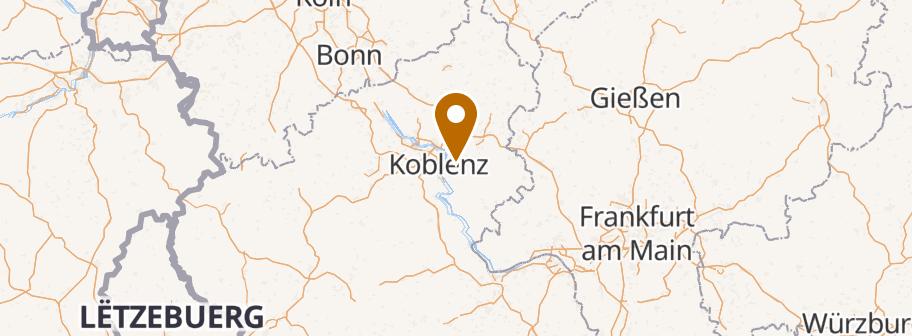 Hotel Restaurant Stadt Coblenz, Koblenzer Straße 16, 56133 Fachbach