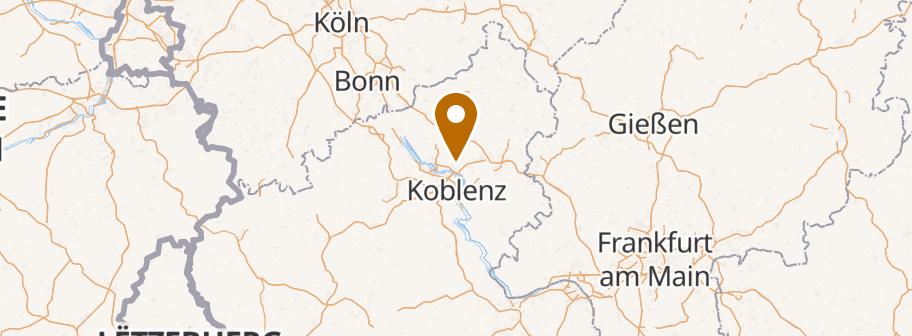 hotel friends Mittelrhein, Im Wenigerbachtal 8-25, 56170 Bendorf
